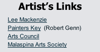 Artist's Links Lee Mackenzie Painters Key  (Robert Genn) Arts Council Malaspina Arts Society